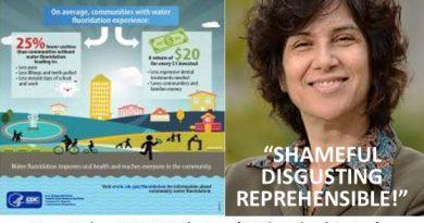 "Erin Brockovich says CDC is ""SHAMEFUL – DISGUSTING – REPREHENSIBLE"""
